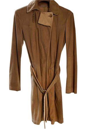Brunello Cucinelli Suede Trench Coats