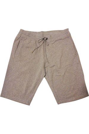 DIRK BIKKEMBERGS Grey Cotton Shorts
