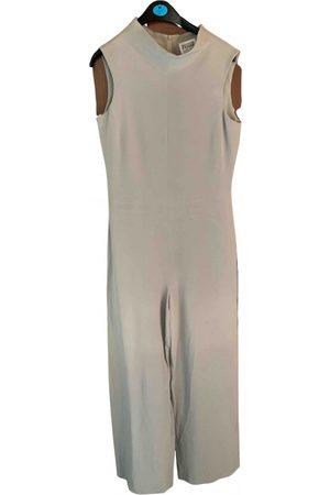 Gianfranco Ferré Grey Cotton Jumpsuits