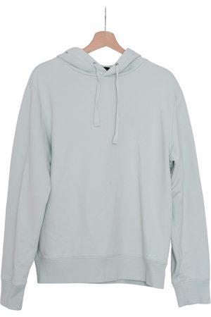 A.P.C. Men Sweatshirts - Turquoise Cotton Knitwear & Sweatshirts