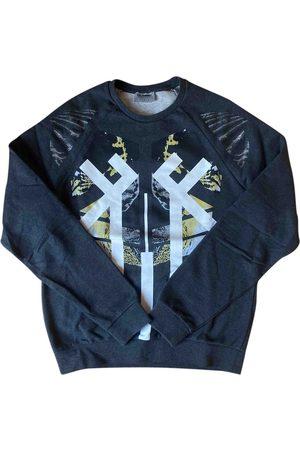 Les Hommes Grey Cotton Knitwear & Sweatshirts