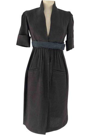 Hood By Air Linen Dresses