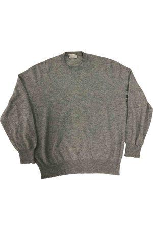 Brunello Cucinelli Grey Cashmere Knitwear & Sweatshirts