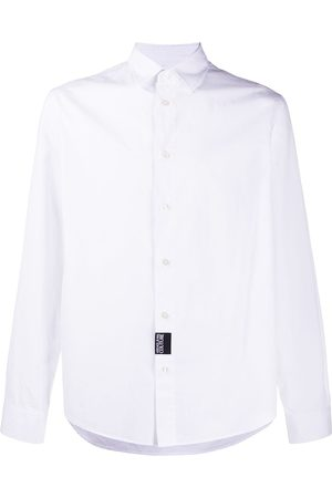 Versace Jeans Couture Men Long sleeves - Slogan-print long-sleeved shirt