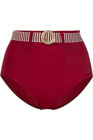Marlies Dekkers Buckle-detail high-waisted bikini briefs