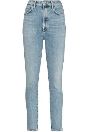 AGOLDE Women High Waisted - Pinch high-waisted skinny jeans