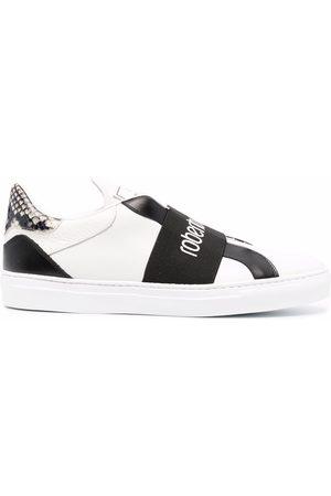 Roberto Cavalli Men Sneakers - Logo-print strap sneakers