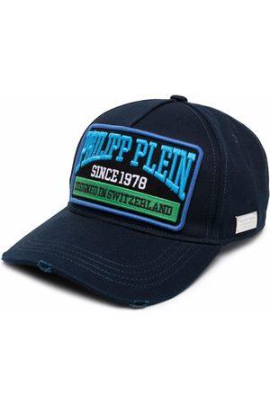 Philipp Plein Hats - Logo patch baseball hat