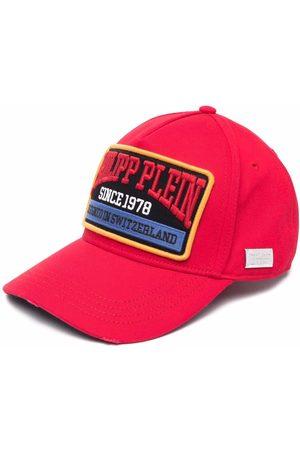 Philipp Plein Embroidered logo patch cap