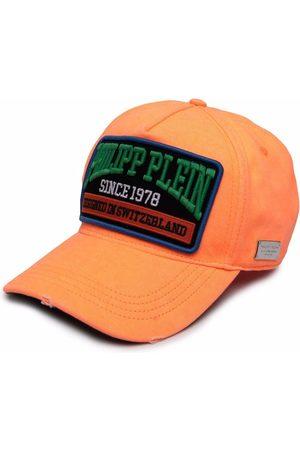 Philipp Plein Caps - Logo-patch slogan cap