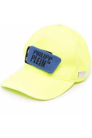 Philipp Plein Caps - Distressed logo patch cap