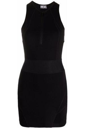 Diesel Sleeveless fitted mini dress