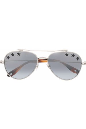 Givenchy Aviators - Star-print aviator sunglasses