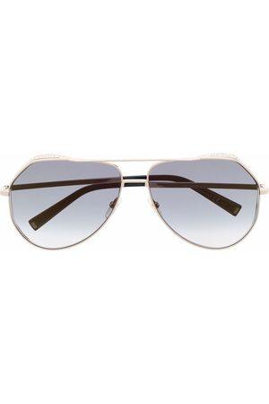 Givenchy Eyewear Crystal-embellished aviator sunglasses