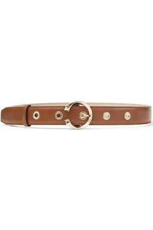 Jimmy Choo Women Belts - Logo plaque belt