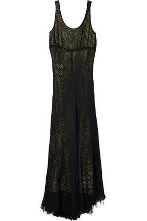 Marc Jacobs Sleeveless mesh maxi dress