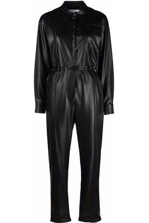 Patrizia Pepe Faux leather jumpsuit