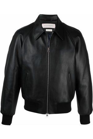 Alexander McQueen Panelled blouson jacket