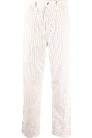 Jil Sander Straight leg corduroy trousers - Neutrals