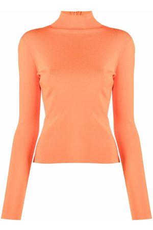 VERSACE Women High Necks - High-neck jersey top