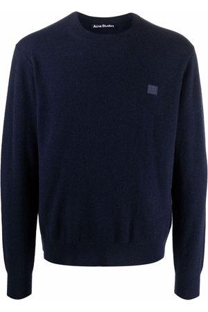 Acne Studios Sweatshirts - Face patch jumper