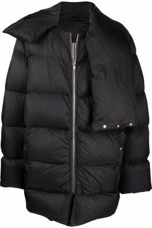 Rick Owens Men Puffer Jackets - Mountain oversized padded down coat
