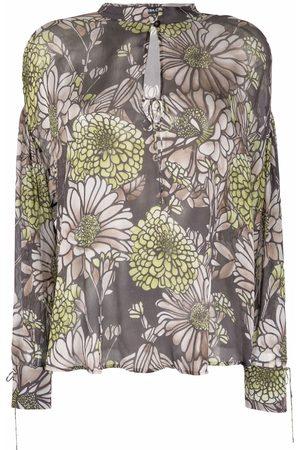 Luisa Cerano Floral-print blouse