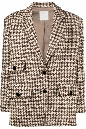 Sandro Paris Notched-lapel single-breasted jacket