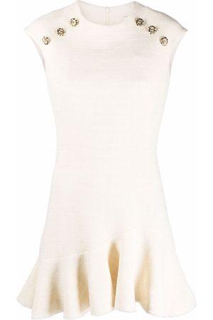 Sandro Paris Women Dresses - Liliana flared dress - Neutrals