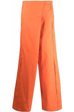 Sunnei Women Wide Leg Pants - High-waisted wide trousers