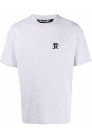 Palm Angels PXP logo-patch T-shirt - Grey