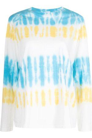 RE/DONE Tie dye-print long-sleeved T-shirt