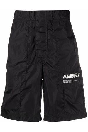 AMBUSH NYLON WORKSHOP SHORT PANTS TOFU