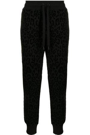 Dolce & Gabbana Leopard-print track trousers