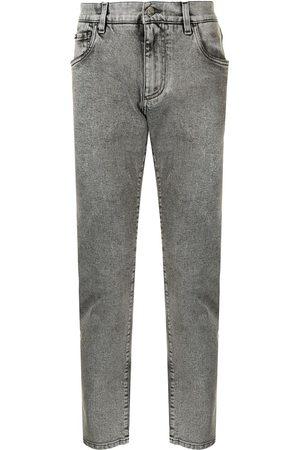 Dolce & Gabbana Acid-wash jeans - Grey