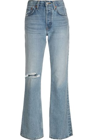 RE/DONE Women Bootcut - Distressed bootcut jeans