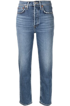RE/DONE Women Stretch - 70s Comfort Stretch cropped jeans