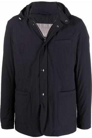Herno Ponente stud-fastening travel blazer