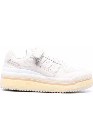 adidas Panelled flatform sneakers