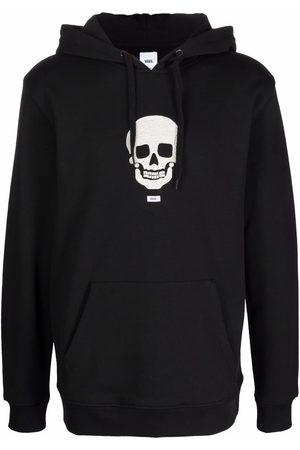 Vans Men Hoodies - Embroidered-skull hoodie