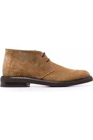 Salvatore Ferragamo Flat lace-up boots