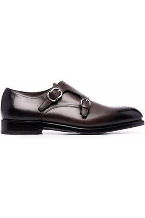 Salvatore Ferragamo Buckle-detail monk shoes