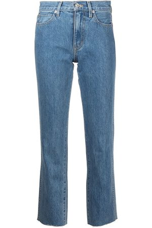Slvrlake Hero Pacific high-rise cropped jeans