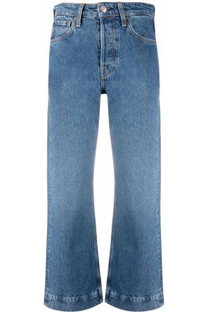 RAG&BONE Cropped flared-leg jeans