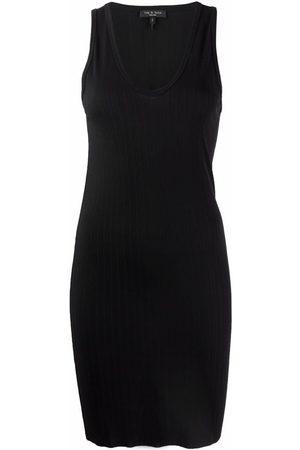 RAG&BONE Women Bodycon Dresses - Ribbed fitted tank dress