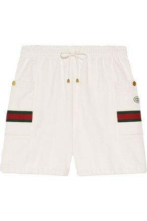 Gucci Web stripe track shorts
