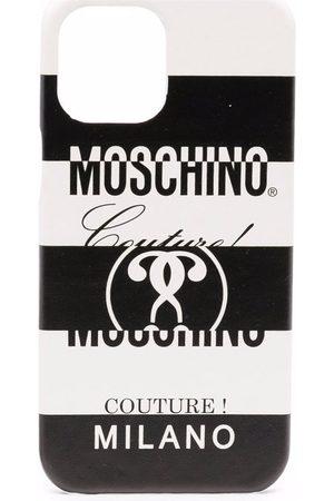 Moschino Stripe-print Iphone 11 Pro Max case