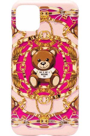 Moschino Bear-motif iPhone 11 Pro Max case
