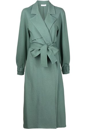 SABLYN Women Trench Coats - Belted long trench coat