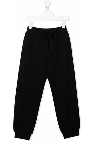 Fendi FF-logo patch track pants